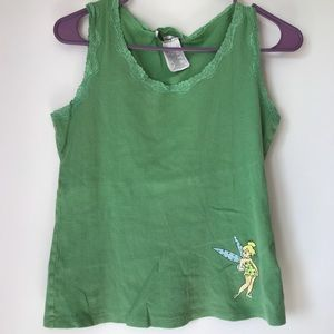 Vintage Walt Disney World Tinkerbell Tank Top S
